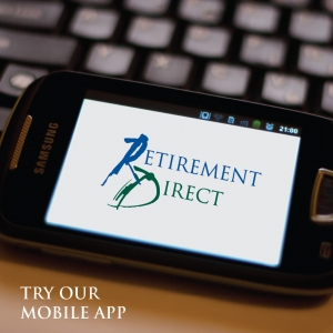 MOBILE APP FOR RETIREMENT ACCOUNT ACCESS